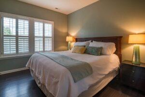 bedroom window blinds